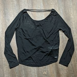 Under Armour Drop Open Back Gym Active Top
